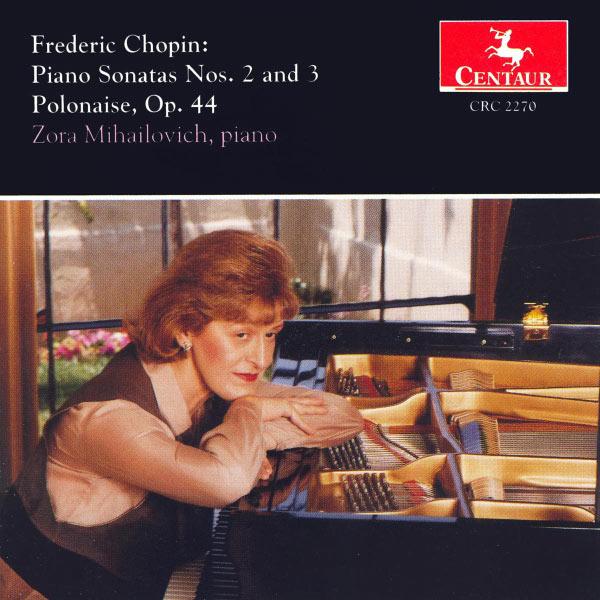 Piano Sonatas 2 & 3 - Chopin / Mihailovich - Musik -  - 0044747227023 - 16/4-1996