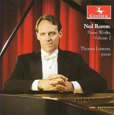 Piano Works 2 - Rorem / Lanners - Musik - Centaur - 0044747298023 - April 28, 2009