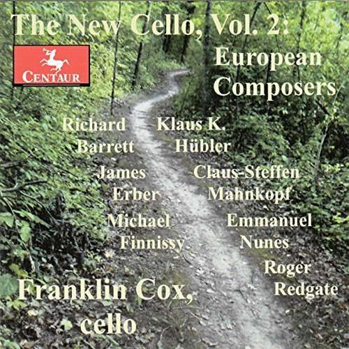 New Cello - European Composers 2 - Redgate / Cox,franklin - Musik - Centaur - 0044747339023 - 9/6-2015