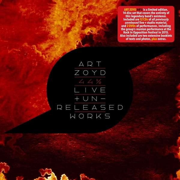 44 1/2: Live & Unreleased Works - Art Zoyd - Musik - CUNEIFORM REC - 0045775045023 - 24/11-2017