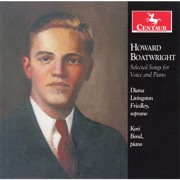 Selected Songs for Voice & Piano - Boatwright - Musik - Centaur - 0044747329024 - 8/7-2014