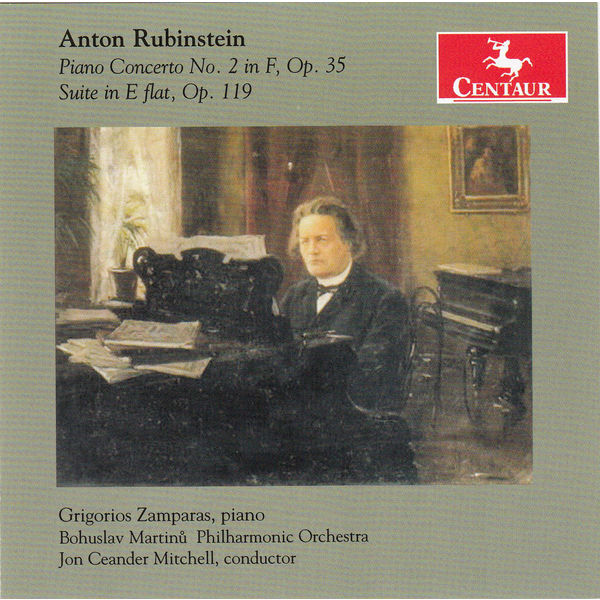 Piano Concerto No.2 - A. Rubinstein - Musik - CENTAUR - 0044747332024 - June 18, 2014