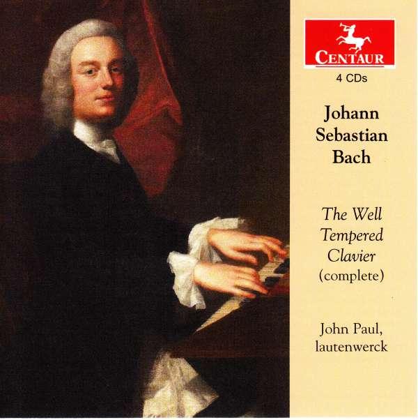 Well Tempered Clavier - J.s. Bach - Musik - CENTAUR - 0044747345024 - 26/10-2016