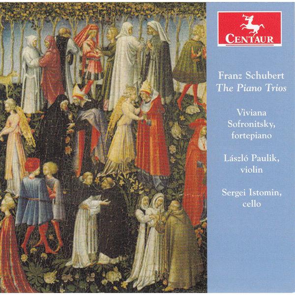 Piano Trios - F. Schubert - Musik - CENTAUR - 0044747335025 - 5/11-2014