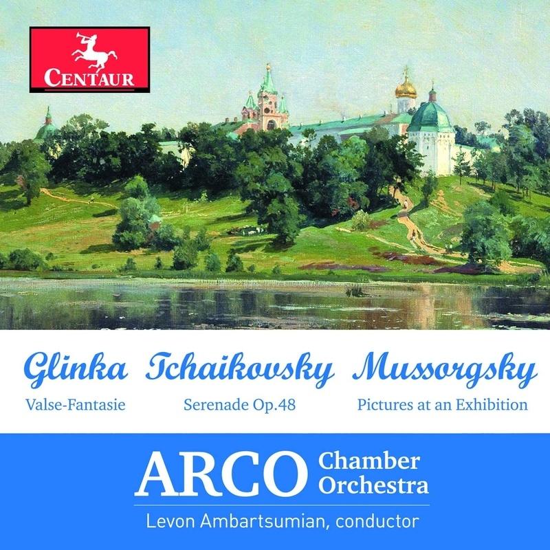 Valse-fantasie / Serenade - Glinka / Ambartsumian / Arco Chamber Orch - Musik -  - 0044747380025 - November 6, 2020