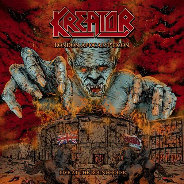 London Apocalypticon - Live at - Kreator - Musik - ADA UK - 0727361481025 - 2021