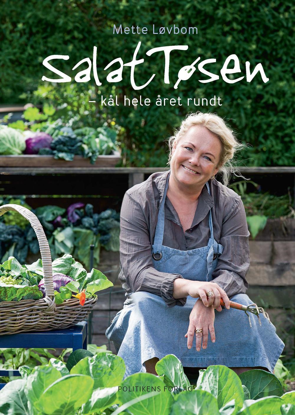 SalatTøsen - Kål hele året rundt - Mette Løvbom - Bøger - Politikens Forlag - 9788740035025 - September 15, 2017