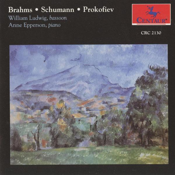 Brahms / Schumann / Prkofiev - Ludwig / Epperson - Musik - CENTAUR - 0044747213026 - 21/6-2005