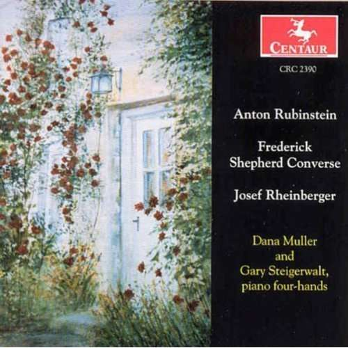 Sta in D Op 89 (1871) / Poetic Waltzes Op 5 (1896) - Rubinstein / Converse / Muller / Steigerwalt - Musik - Centaur - 0044747239026 - 30/11-1999