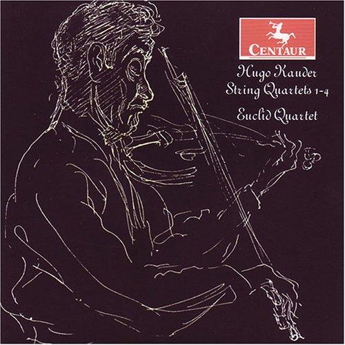 String Quartets 1-4 - Kauder / Euclid Quartet - Musik - Centaur - 0044747284026 - July 24, 2007