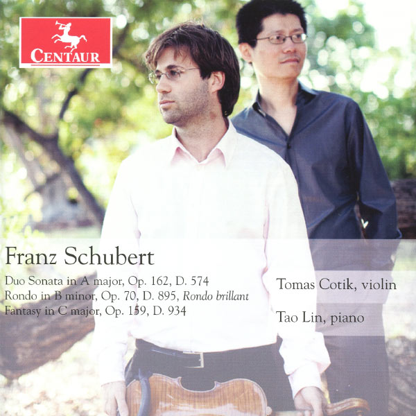 Franz Schubert - F. Schubert - Musik - CENTAUR - 0044747325026 - November 5, 2012
