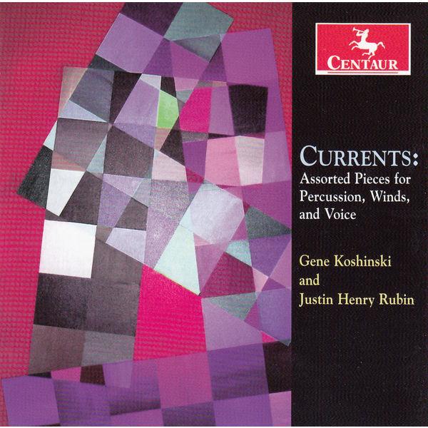 Currents - Assorted Pieces for Percussion Winds - Rubin / Koshinski / University of Minnesota Duluth - Musik - DAN - 0044747341026 - 9/6-2015