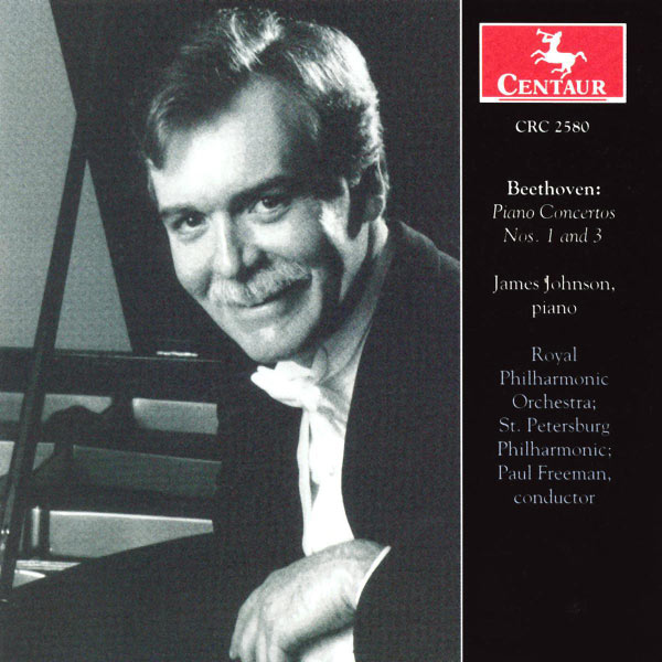 Piano Concertos 1 & 3 - Beethoven / Johnson / Freeman / Rpo - Musik -  - 0044747258027 - 26/11-2002