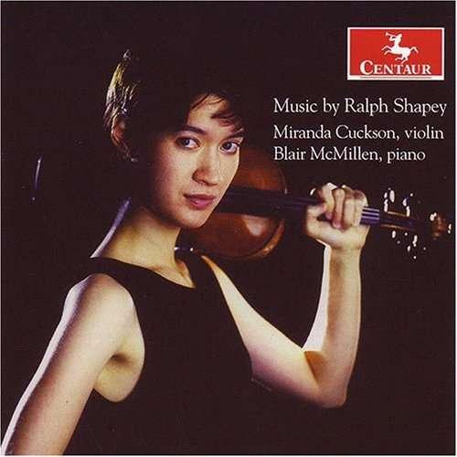 Five for Vn & Pno - Shapey - Musik - Centaur - 0044747290027 - 13/11-2007