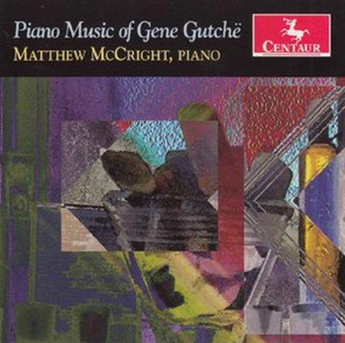 Piano Music - Matthew Mccright - Musik - CENTAUR - 0044747315027 - 21/3-2012