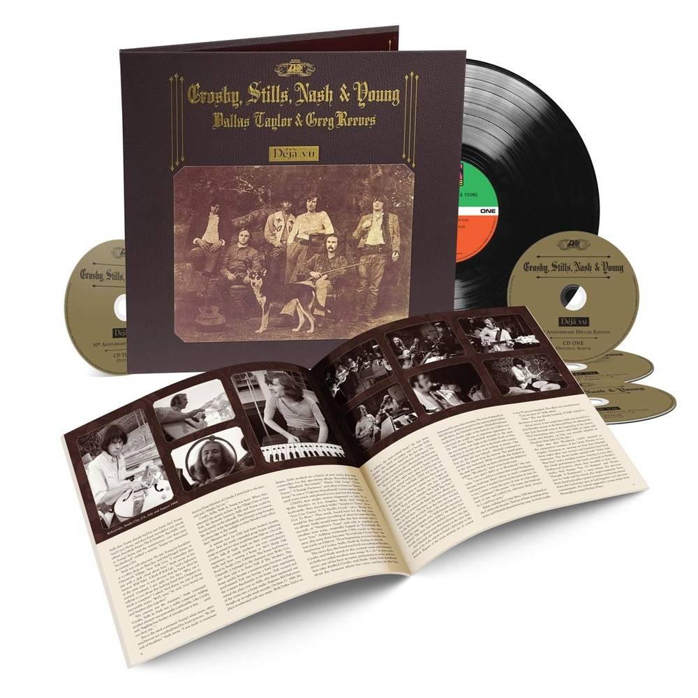 Deja Vu - 50th Anniversary - Crosby, Stills, Nash & Young - Musik - RHINO - 0603497848027 - May 14, 2021