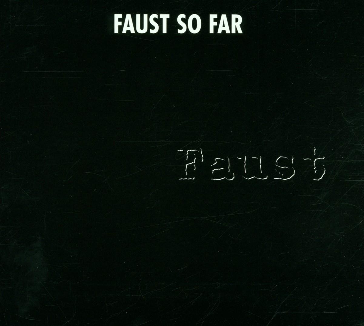 Faust So Far - Faust - Musik - RER MEGACORP - 0752725012027 - December 3, 2013