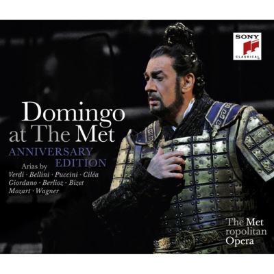 At The Met -Annivers- - Placido Domingo - Musik - CLASSICAL - 0888430316027 - October 14, 2016