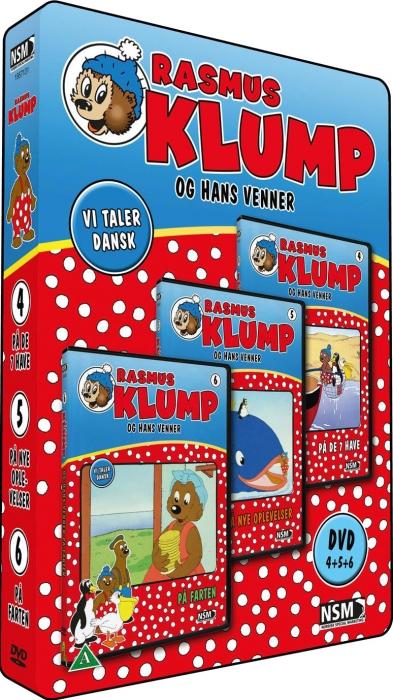 Rasmus Klump og Hans Venner: Boks 2 (3-disc) - DVD /movies /standard / DVD - Rasmus Klump - Film -  - 5708758687027 - April 1, 2011