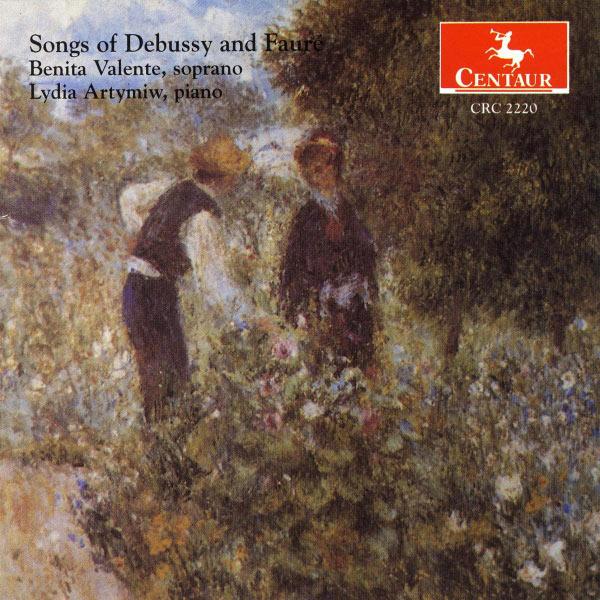 Songs of Debussy & Faure - Debussy / Faure - Musik - CENTAUR - 0044747222028 - 14/7-1998
