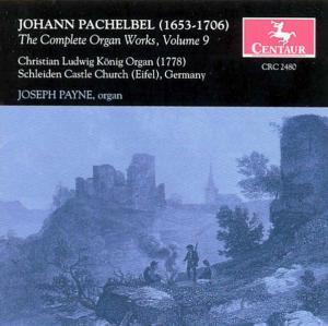 Complete Organ Works 9 - J. Pachelbel - Musik - CENTAUR - 0044747248028 - 2004