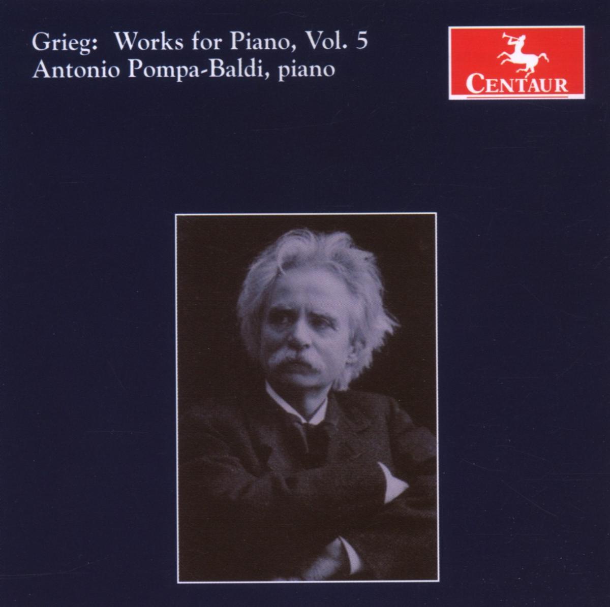 Works for Piano V.5 - Antonio Pompa-baldi - Musik - CENTAUR - 0044747280028 - 30/4-2014