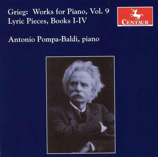 Works for Piano 9 - Grieg / Pompa-baldi - Musik - Centaur - 0044747293028 - 24/2-2009