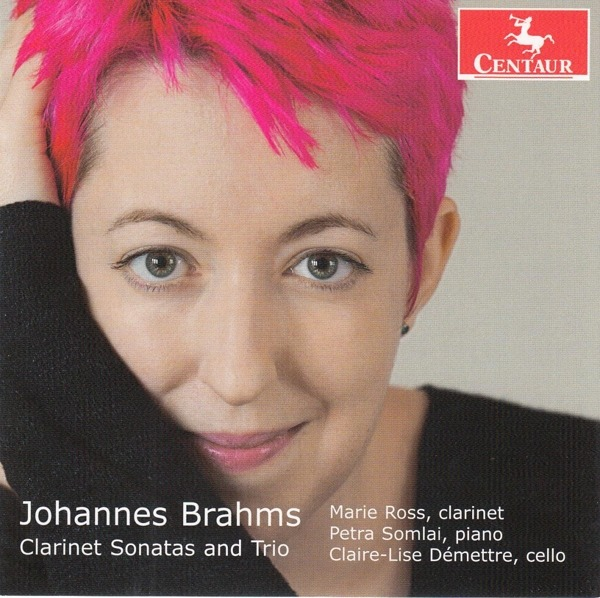 Brahms: Clarinet Sonatas and Trio - Marie Ross - Musik - CENTAUR - 0044747376028 - 4/9-2020