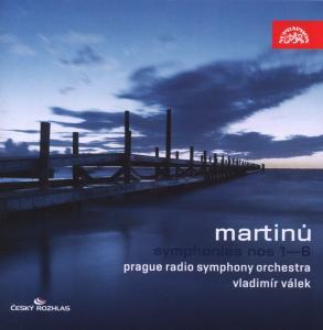 Symphonies No.1-6 - B. Martinu - Musik - SUPRAPHON - 0099925394028 - 27/3-2008