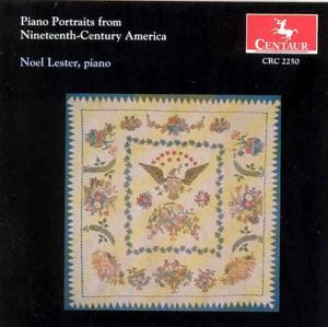 Piano Portraits from 19th Century America / Variou - Piano Portraits from 19th Century America / Variou - Musik - CENTAUR - 0044747225029 - 24/10-1995