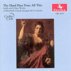 Thy Hand Hast Done All This - Cecilia's Circle - Musik - CENTAUR - 0044747267029 - 9/9-2004