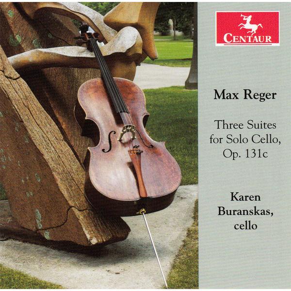 Thee Suites for Solo Cello - Karen Buranskas - Musik - CENTAUR - 0044747296029 - June 18, 2014