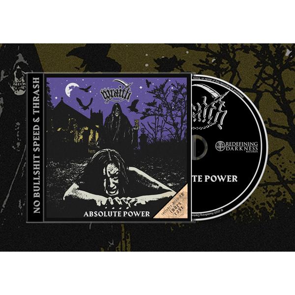 Absolute Power - Wraith - Musik -  - 0752785898029 - June 25, 2021