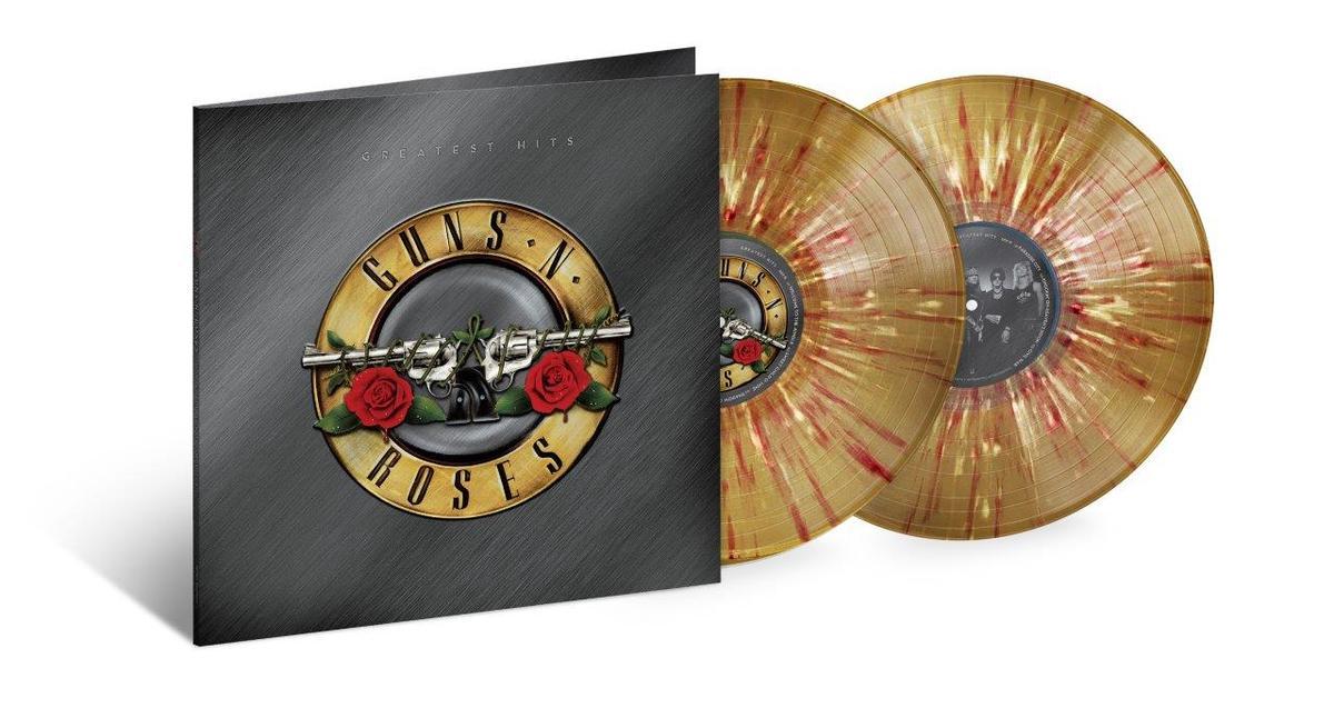 Greatest Hits (Gold with Red/White Splatter Vinyl) - Guns 'N' Roses - Musik - UNIVERSAL - 0602435054032 - 25/9-2020