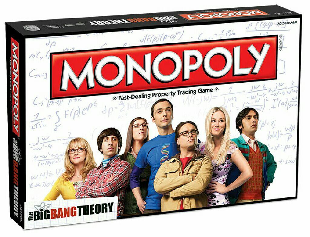 Monopoly - Big Bang Theory - Brætspil - HASBRO GAMING - 5036905024037 - 2015