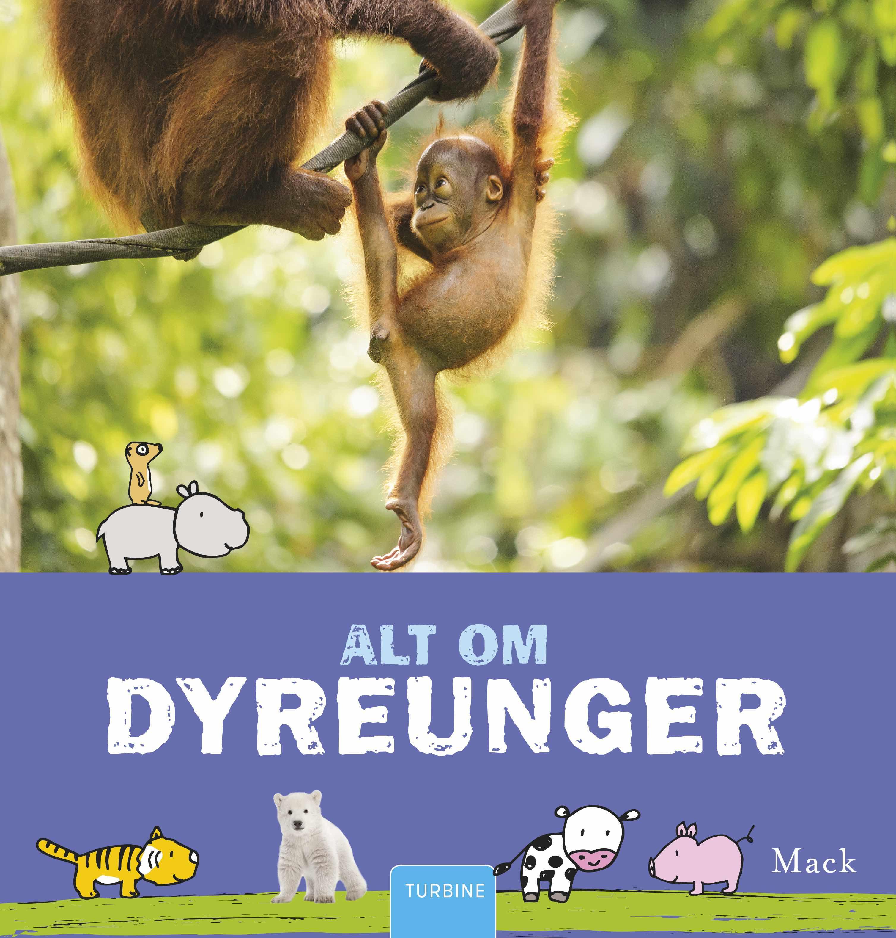 Alt om dyreunger - Mack - Bøger - Turbine - 9788740650037 - September 20, 2018