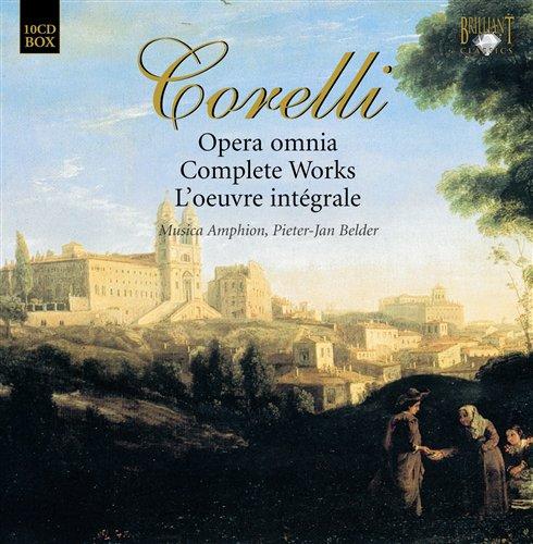 Corelli: Complete Works - Various Artists - Musik - BRILLIANT CLASSICS - 5028421924038 - October 20, 2008
