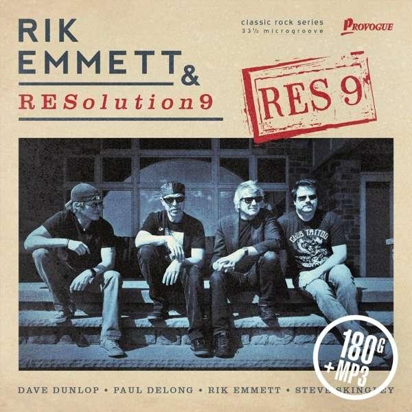 Res 9 - Rik Emmet & Resoultion 9 - Musik - ROCK - 0819873014041 - November 10, 2016
