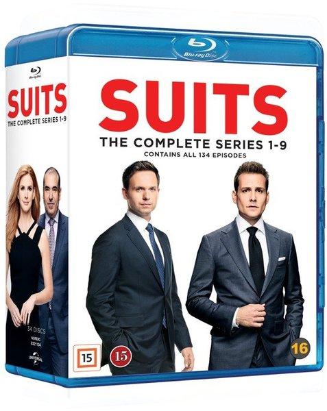 Suits Complete Series - Suits - Film -  - 5053083211042 - 6/4-2020