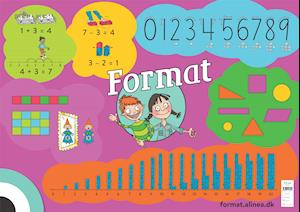 Format: Format 0, plakat - Alice Darville; Janus Madsen - Bøger - Alinea - 9788723543042 - 1/8-2019