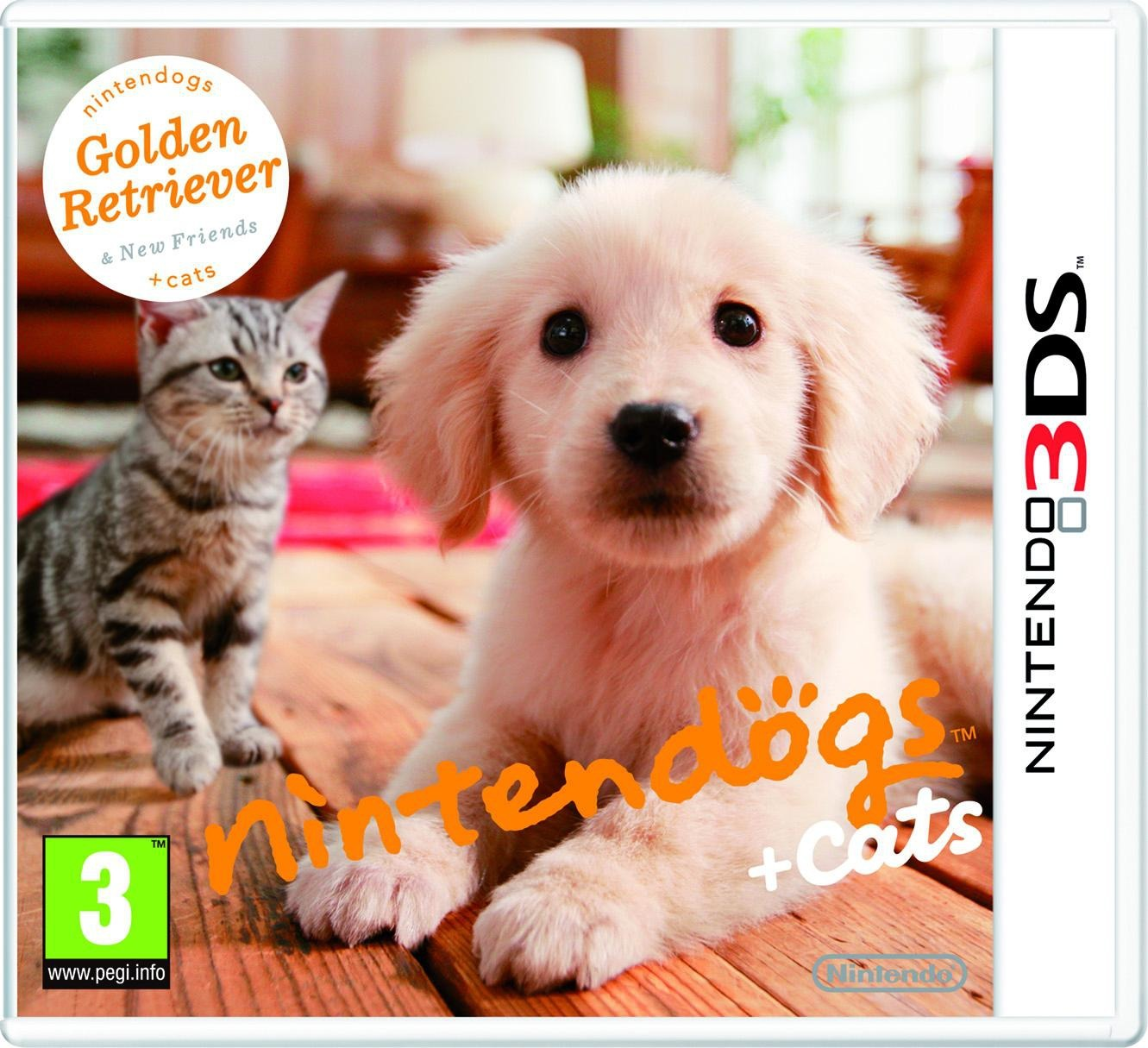 Nintendogs & Cats-golden Retriever -game 3ds- - Nintendogs & Cats - Merchandise - Nintendo - 0045496520045 -