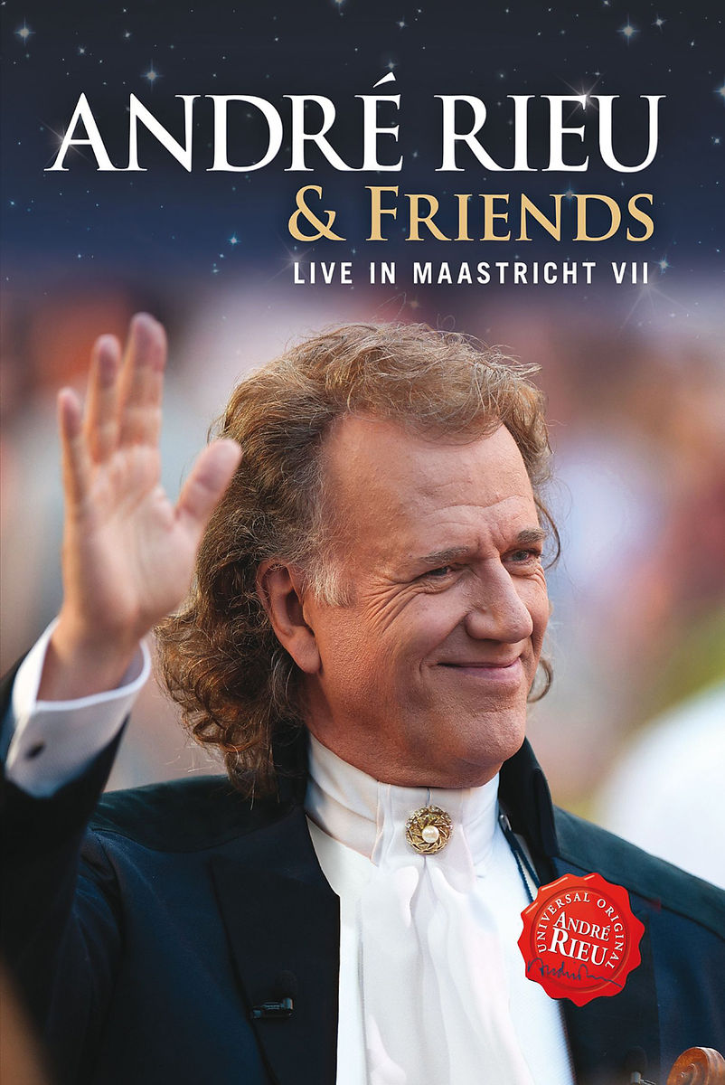 Live in Maastricht VII - André Rieu & Friends - Film - UNIVERSAL - 0602537537051 - October 28, 2013