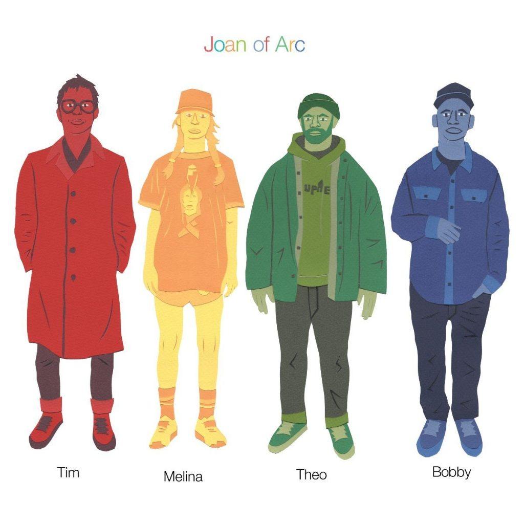 Tim Melina Theo Bobby - Joan Of Arc - Musik - JOYFUL NOISE - 0753936907065 - December 4, 2020