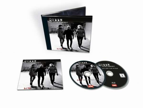 Live Around the World - Queen & Adam Lambert - Musik - UNIVERSAL - 0602507394066 - October 2, 2020