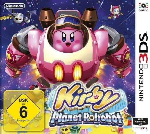 Kirby,Planet Robobot,N3DS.2233340 -  - Bøger -  - 0045496473068 -