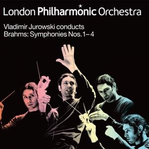 Symphonies No.1-4 - J. Brahms - Musik - LONDON PHILHARMONIC ORCHE - 0854990009068 - 21/11-2014