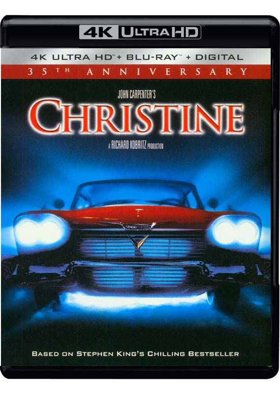 Christine (35th Anniversary) - Christine (35th Anniversary) - Film -  - 0043396529069 - 11/9-2018