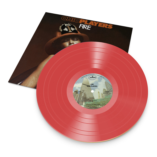 Fire (Red Translucent Vinyl) - Ohio Players - Musik -  - 3700477825072 - August 6, 2021