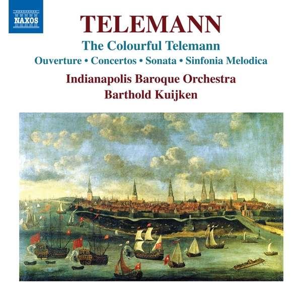 Coulourful Telemann - G.P. Telemann - Musik - NAXOS - 0747313390076 - July 3, 2020