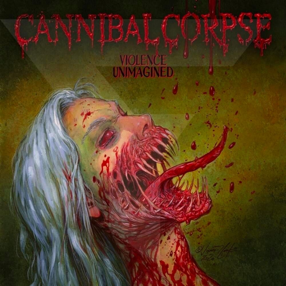 Violence Unimagined (Pot Green) - Cannibal Corpse - Musik - METAL BLADE RECORDS - 0039841576078 - April 16, 2021